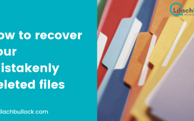 How to recover your mistakenly deleted files