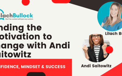 Finding the motivation to change with Andi Saitowitz